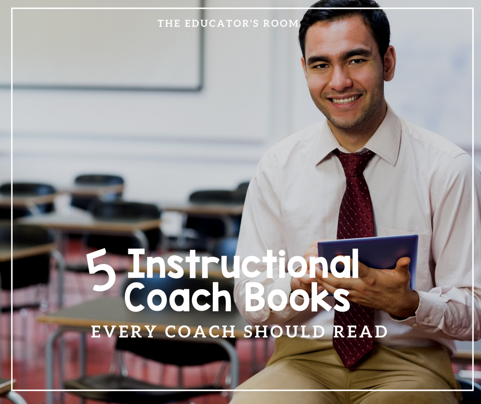 5 Instructional Coach Books You Should Read This Summer