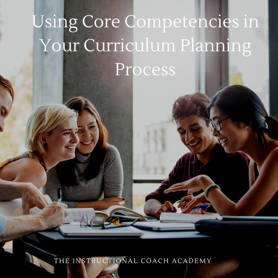 Using Core Competencies in Your Curriculum Planning Process