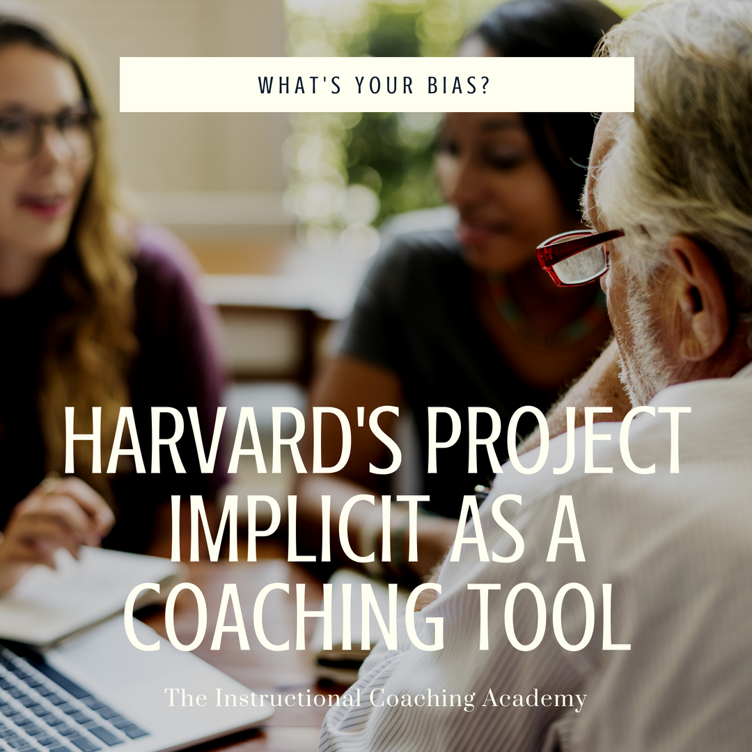 Harvard's Project Implicit as a Coaching Tool