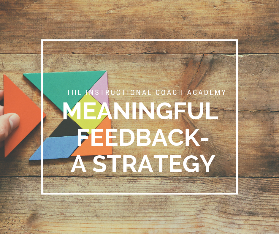 Meaningful Feedback-A Strategy