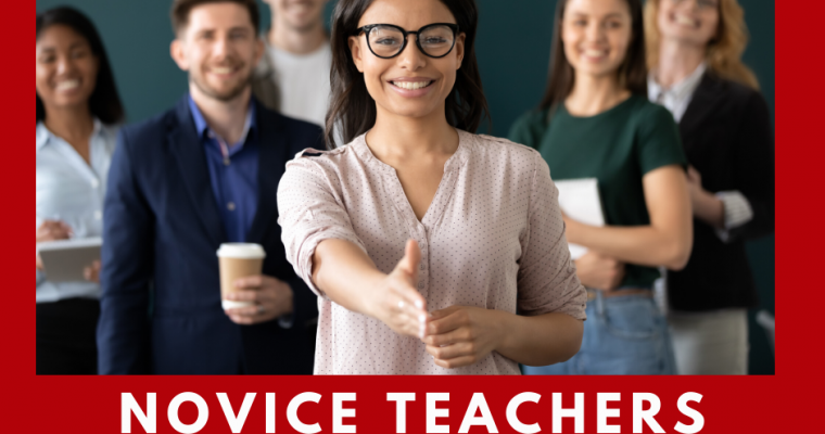 Novice Teachers Need More From Us